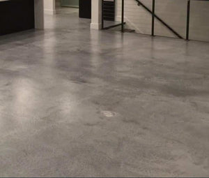 CONCRETE FLOORS Deposit to reserve time slot is - Service