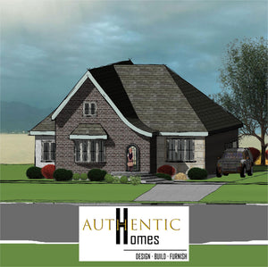COTTAGE House Plans by Authentic Homes in Utah