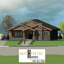 Load image into Gallery viewer, CRAFTSMAN House Plans by Authentic Homes in Utah