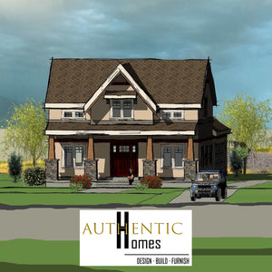 CRAFTSMAN House Plans by Authentic Homes in Utah