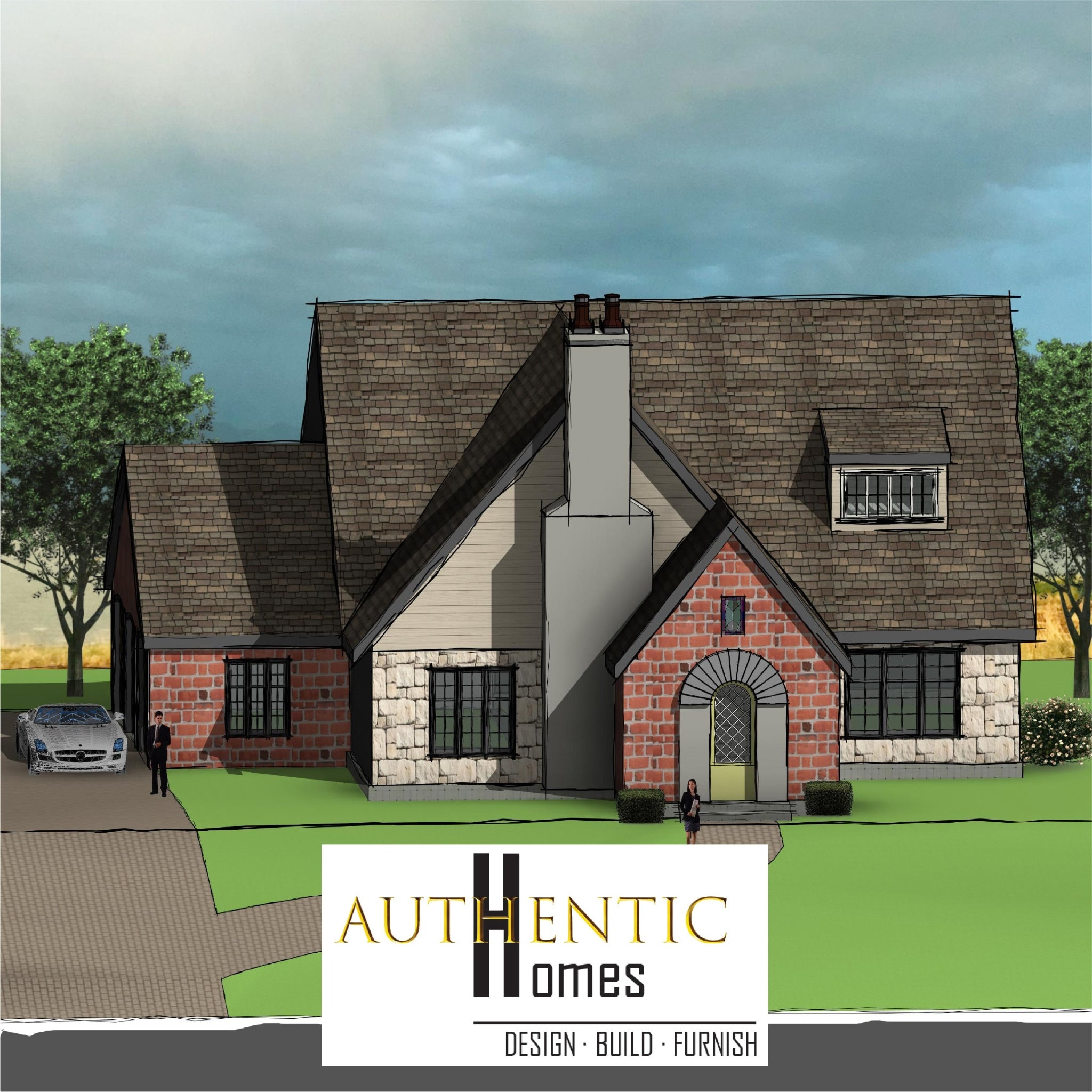 Authentic House Plans English Cottage Custom House Plans In Utah Authentic Homes