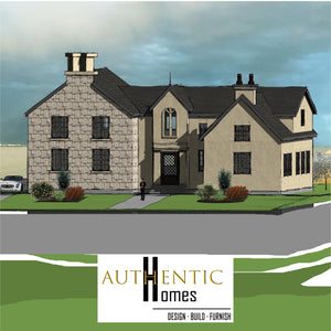 ENGLISH COTTAGE House Plans by Authentic Homes in Utah