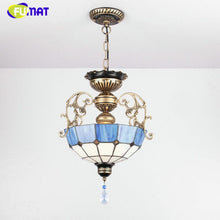 Load image into Gallery viewer, Euroepan Style Chandelier Blue Shade - Lighting