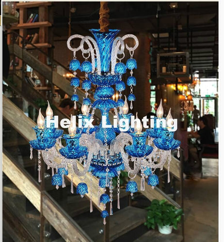 Fancy Vintage Crystal Chandelier - Lighting