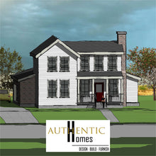 Load image into Gallery viewer, FARMHOUSE House Plans by Authentic Homes in Utah