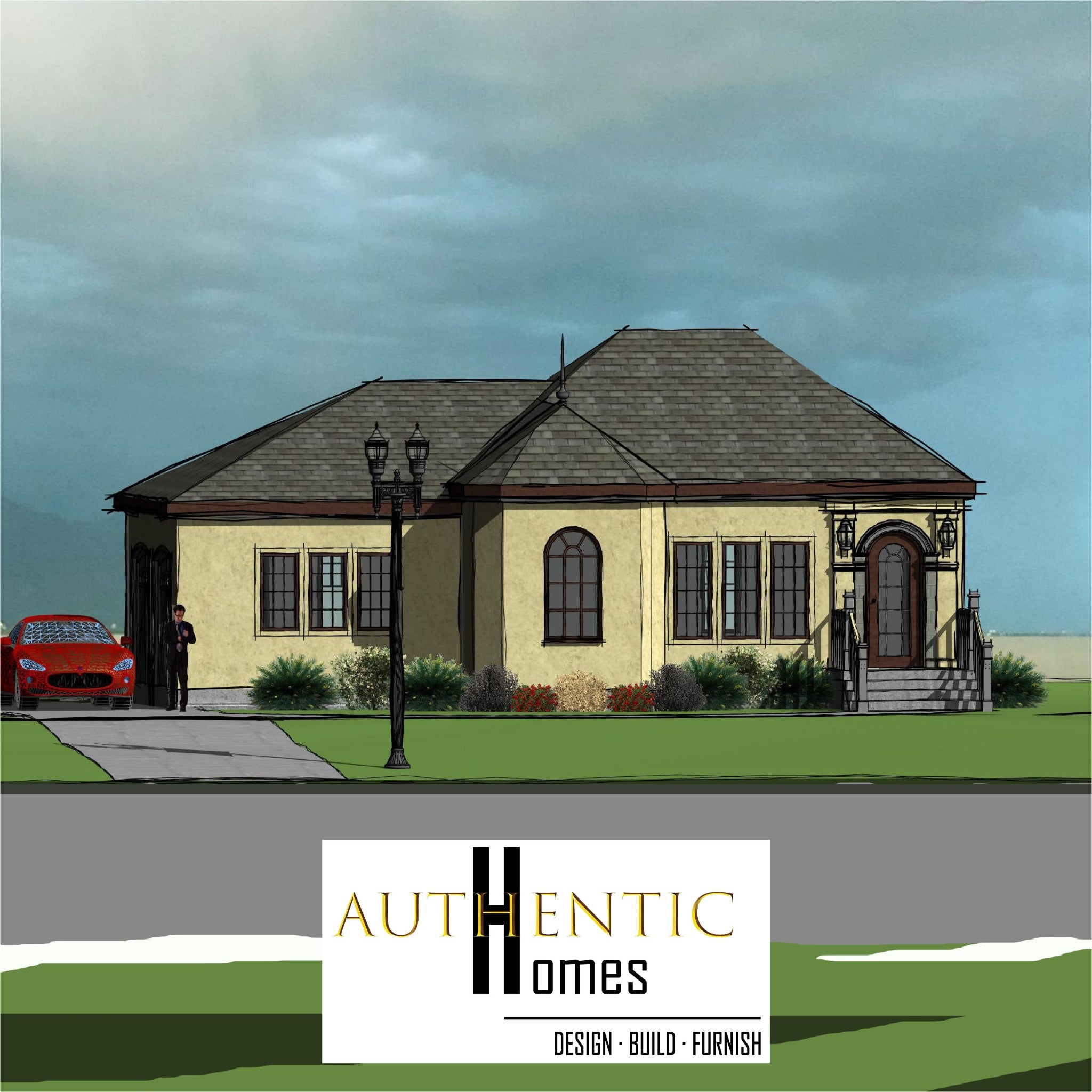 FRENCH House Plans by Authentic Homes in Utah