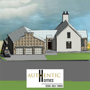 IRISH VENACULAR House Plans by Authentic Homes in Utah