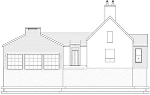 IRISH VENACULAR House Plan Elevation by Authentic Homes in Utah