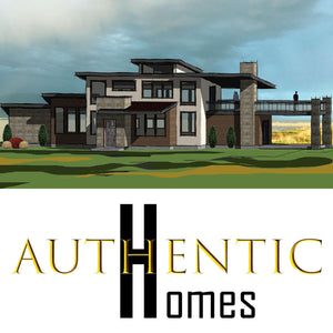 LUXURY House Plans by Authentic Homes in Utah