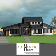 Load image into Gallery viewer, MODERN House Plans by Authentic Homes in Utah