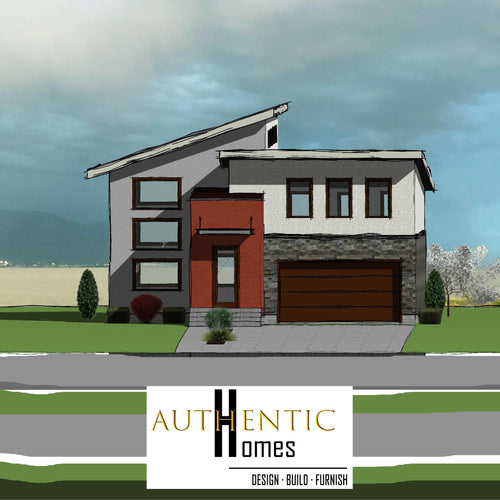 MODERN House Plans by Authentic Homes in Utah