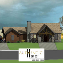 Load image into Gallery viewer, MOUNTAIN House Plans by Authentic Homes in Utah