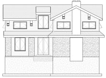 Load image into Gallery viewer, MOUNTAIN House Plan Elevation by Authentic Homes in Utah