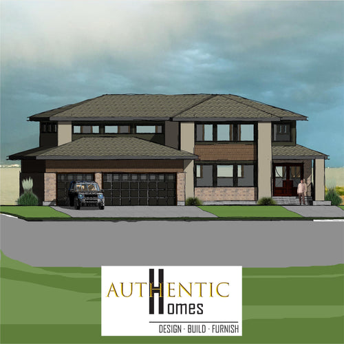 PRARIE House Plans by Authentic Homes in Utah