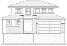 Load image into Gallery viewer, PRARIE House Plan Elevation by Authentic Homes in Utah