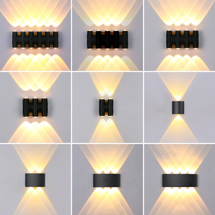 Outdoor LED Porch Wall Light 8W 10W 12W
