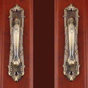 Modern Closet Large Handle Balcony Knob and Pull Bedroom Knob Classical Red Bronze Bronze Handle Drawer Cabinet Handle 1pcs