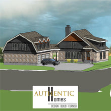 Load image into Gallery viewer, SHINGLE House Plans by Authentic Homes in Utah
