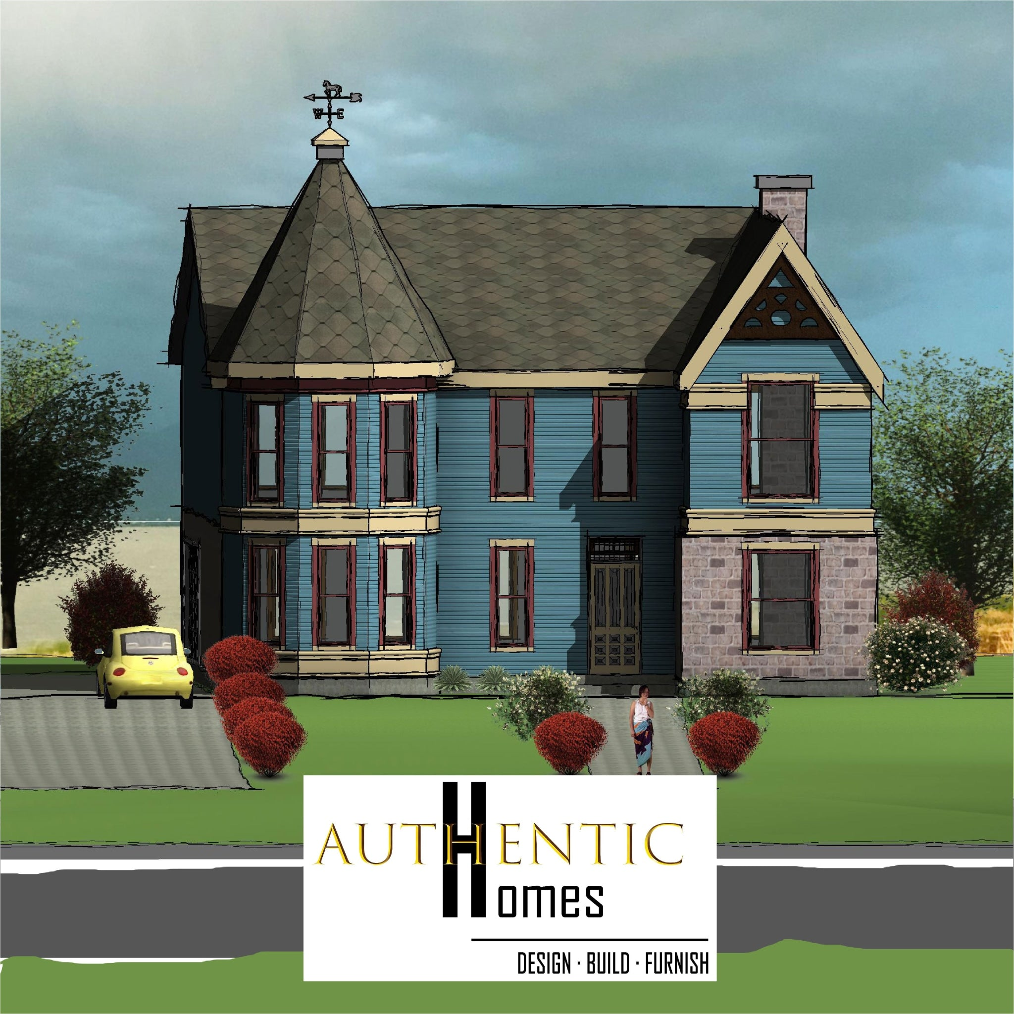VICTORIAN House Plans by Authentic Homes in Utah