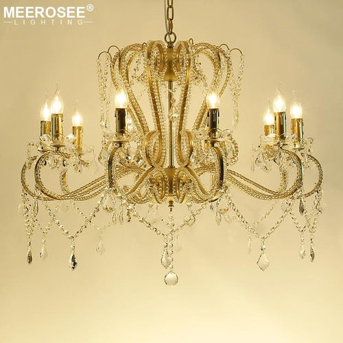 Vintage Iron Chandelier - Lighting