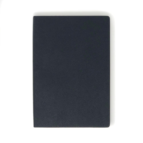 Personalized Saffiano Leather Notebook