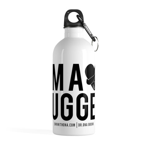 """I'm a Hugger"" Stainless Steel Water Bottle"