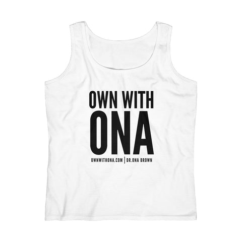 """Own With Ona"" Women's Lightweight Tank Top"