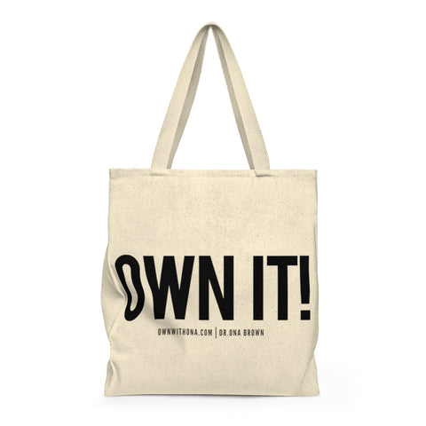 """OWN IT"" Shoulder Tote Bag"
