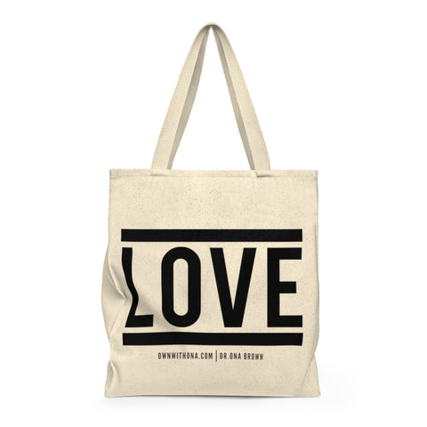 """LOVE"" Shoulder Tote Bag"
