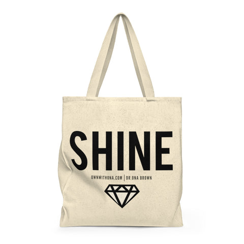 """SHINE"" Shoulder Tote Bag"