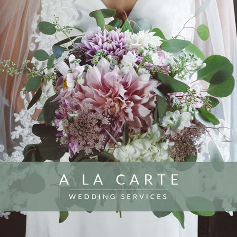 A La Carte Wedding Services