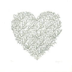 Lynn Hatzius - Winter Heart - londonprintstudio