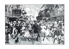 John Phillips - Carnival in the Port of Spain - londonprintstudio
