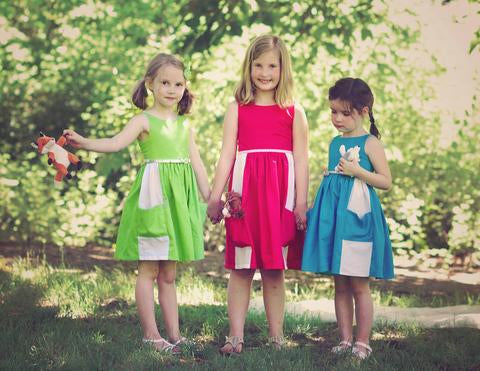 June Dress pdf pattern VFT