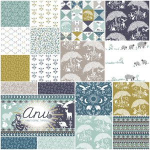 Anu fabric line from hawthorne threads