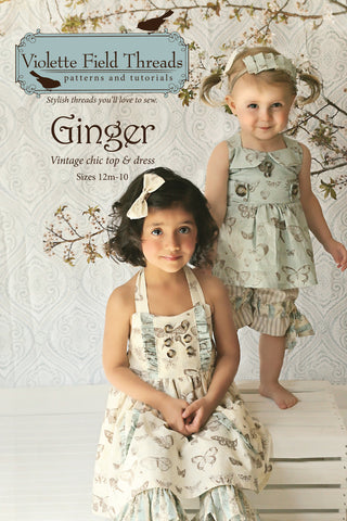 Ginger Paper Pattern Cover