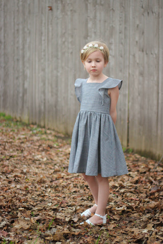 Paige dress pattern VFT