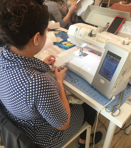 Retreat sewing