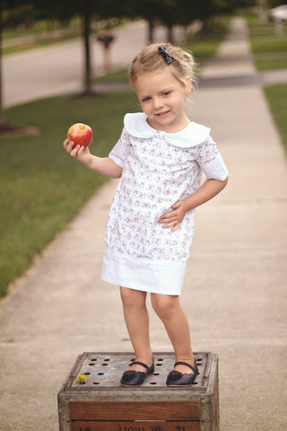 Dress and apple