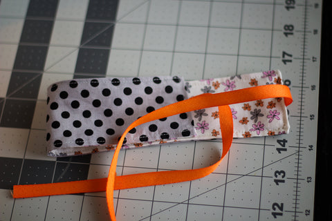 finished reversible headband