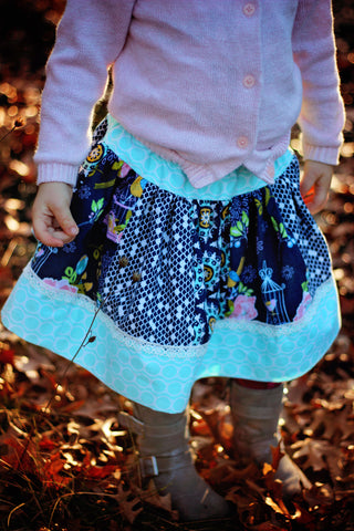 Patchwork Sophia skirt
