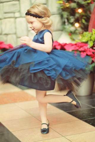 Violette tulle dress pattern