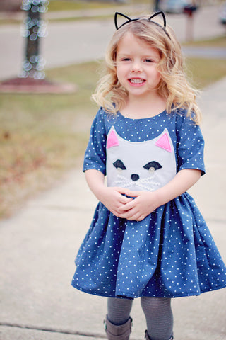 Cutie Kitty pdf + Genevieve dress pdf