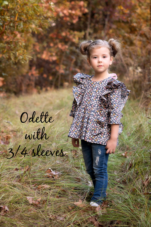 Odette with 3/4 sleeve
