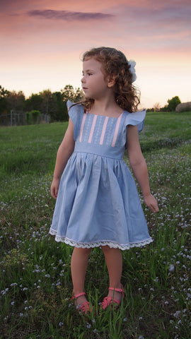 Paige dress pdf pattern