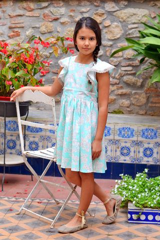 Paige dress pdf pattern VFT