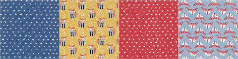 fox and heart fabrics