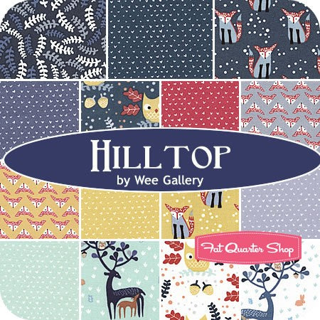 Hilltop fabrics from Dear Stella