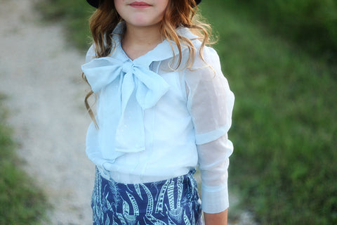 Josephine blouse with bow