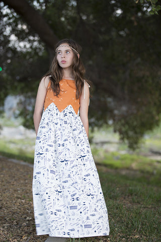 Grace maxi dress pattern